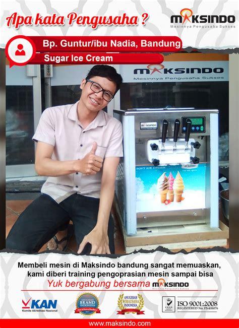 Jual Freezer Mini Untuk Es Krim jual mesin es krim 3 kran icm919 di bandung toko mesin