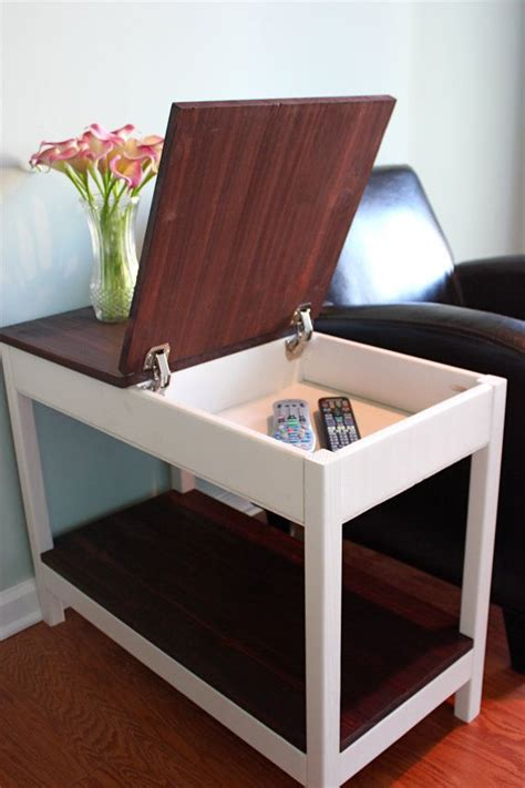 Cheap Sofa Tables With Storage by Storage Side Table By Cnlfurnishings On Etsy