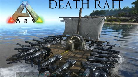 ark survival boat designs ark survival evolved raft of death ultimate battleship