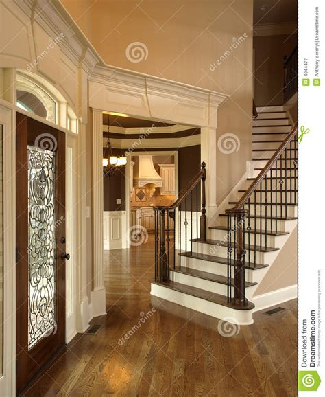 foyer door interior architecture luxury foyer with ornate stained glass door luxury foyer with glass door 3 royalty free stock