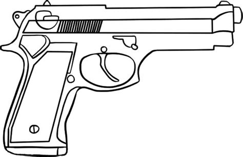 toy gun coloring page machine guns free coloring pages