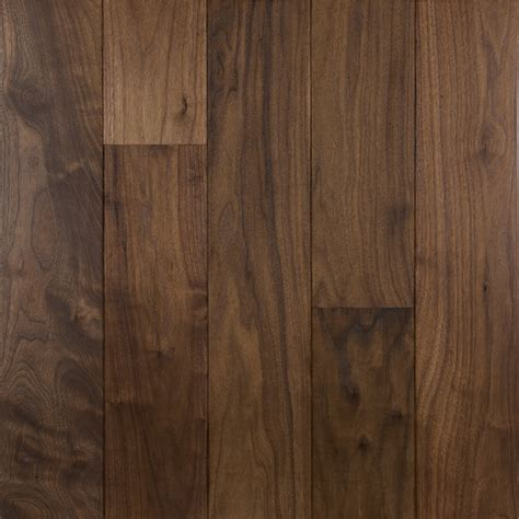 "3/4"" x 3 1/4"" American Walnut Natural Prefinished Wood Floor"
