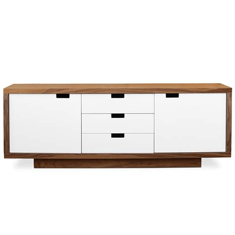white lacquer buffet cabinet modern buffets gus modern wilson cabinet eurway