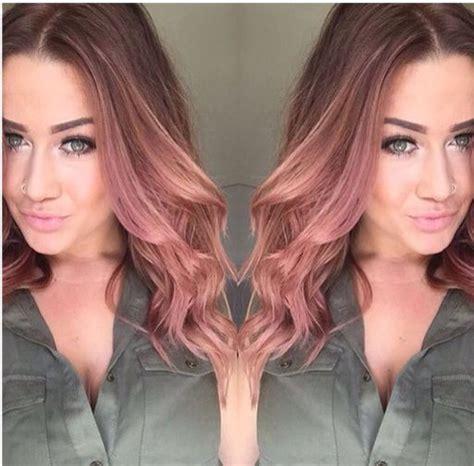 stunning rose gold hair ideas the haircut web
