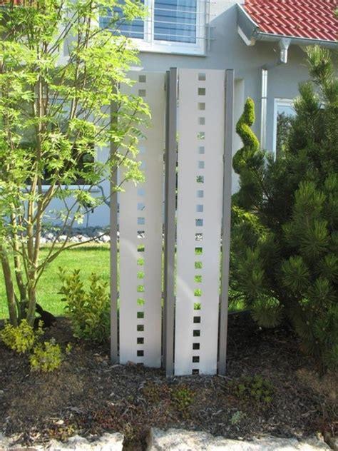 terrasse 50 cm hoch end pfosten f 252 r sichtschutz stele 110 cm hoch