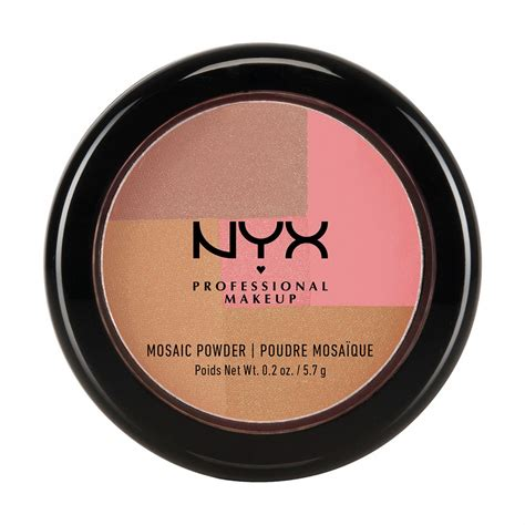 Nyx Mosaic Powder nyx mosaic powder blush 12 gold