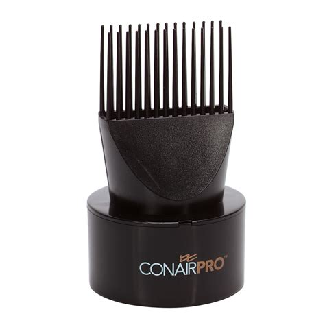 Hair Dryer Attachments To Straighten Hair conairpro on dual professional straightening pic