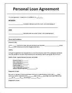Art Loan Agreement Template 14 loan agreement templates excel pdf formats