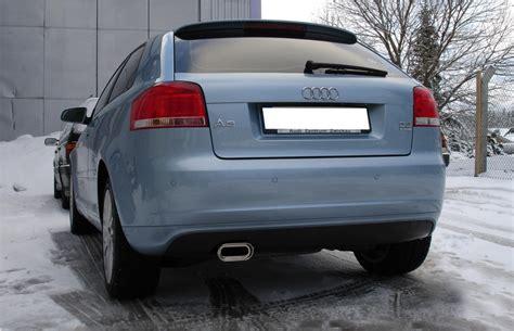 Audi A3 8p Sportauspuff by Fox Sportauspuff Audi A3 Typ 8p Quattro Bj 2003 2009 1