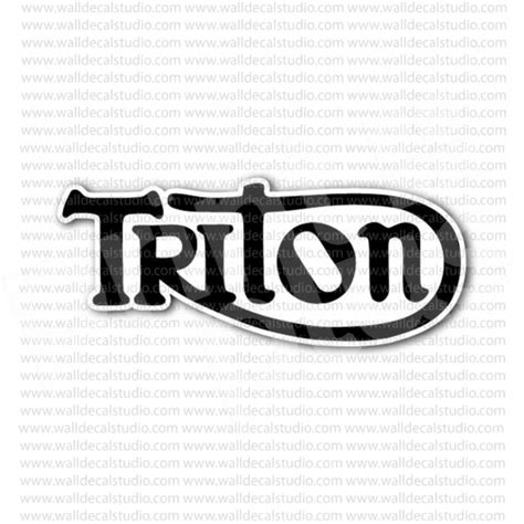 triton boats sticker from 4 00 buy triton motorcycle sign sticker at print