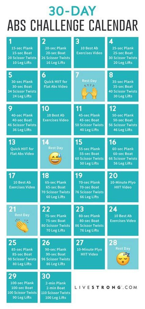best 30 day workout challenge best 25 30 day workouts ideas on 30 day