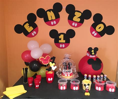 cumplea os mickey mouse decoracion decoracion de cumpleanos mickey mouse para ninos picture