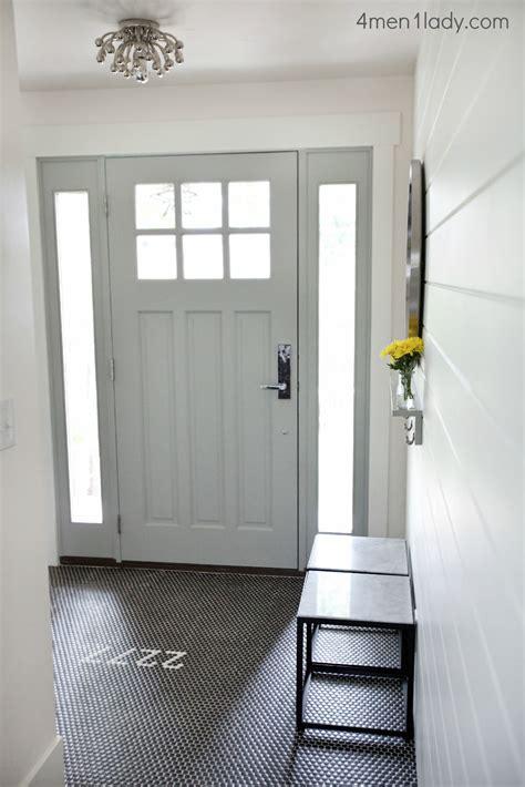 Entryway Reveal Front Door Tiles