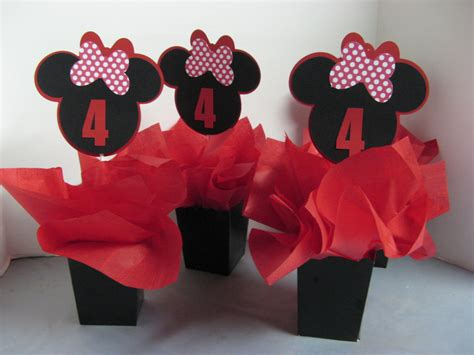 minnie mouse birthday decorations 3 in this listing