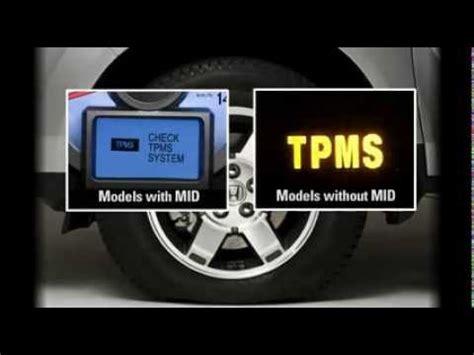 hondas tire pressure monitoring system tpms explained youtube