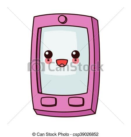 imagenes kawai para celular kawaii tel 233 fono celular botones icono kawaii plano