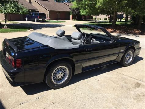 95 ford mustang convertible top 1987 ford mustang gt convertible automatic 34k original