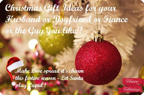 christmas gift ideas part 1 for husband boyfriend