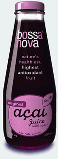 Bossa Acai Fruit Juice by Ingredients And Formulation Acai Is Just A Fruit Not A