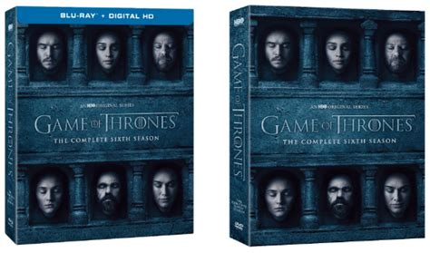 Gamis Set 6 of thrones season 6 release date announced for
