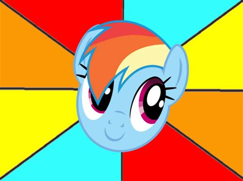 Rainbow Face Meme - happy dash meme template by snakeman1992 on deviantart