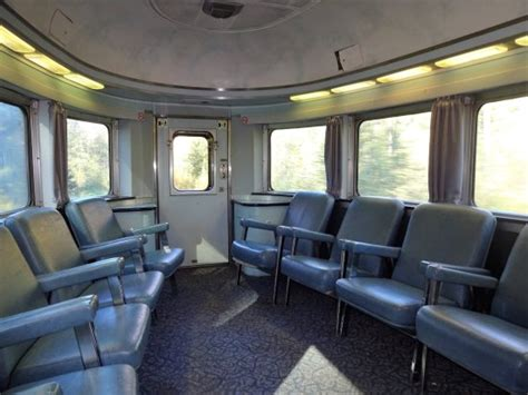 Sleeper Class Via Rail by Sleeper Class Dome Car At The End Of The Picture