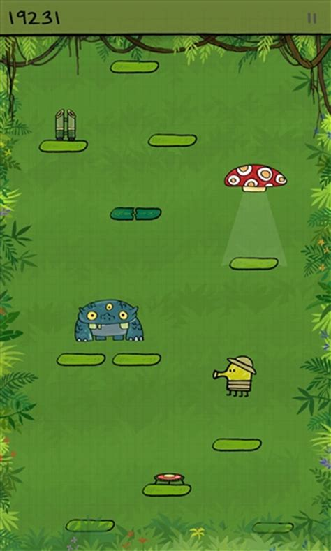 doodle jump how do you survive ufo abduction developers doodle jump and xbox live