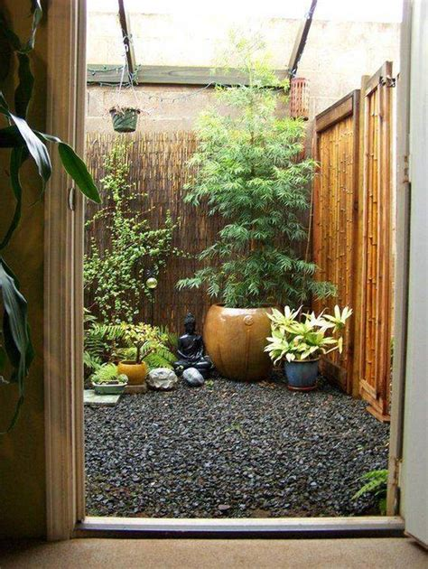Garden Decoration With Bamboo by Landscaping And Outdoor Building Small Patio Decorating