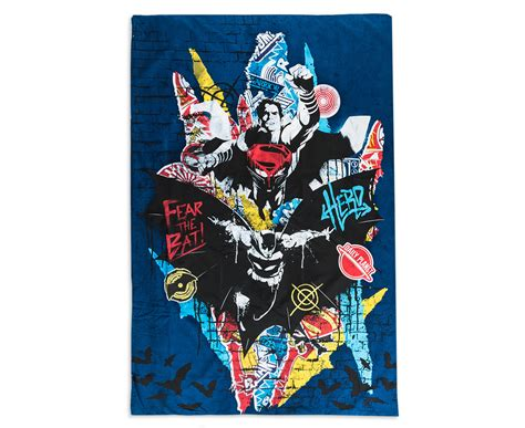 Batman Quilt Cover by Dc Comics Batman V Superman Single Quilt Cover Set Ebay