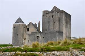 the old breachacha castle on the isle of coll scotland