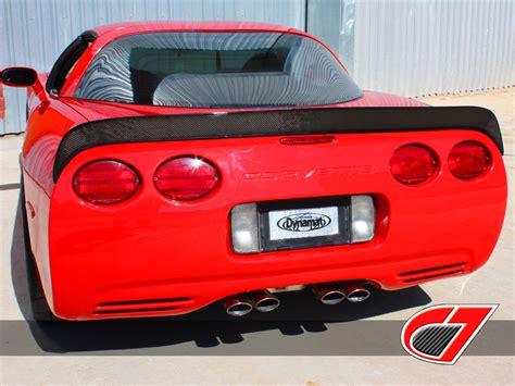 c7 carbon fiber c5 extended rear spoiler