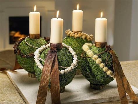 Hohe Kerzen by Individuell Weihnachtsdekoration Selber Basteln Ruhr