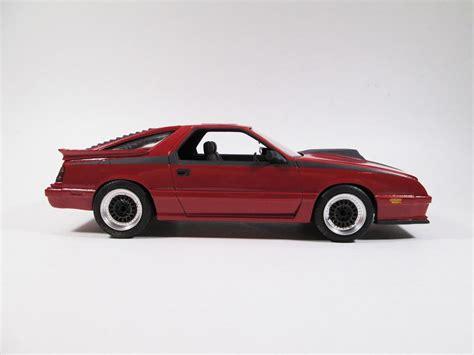 dodge daytona turbo 1986 dodge daytona turbo z glass model cars