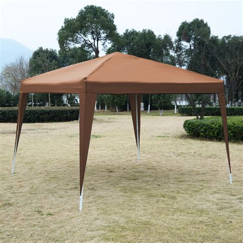 10x10 gazebo canopy 10 x 10 ez pop up canopy tent gazebo