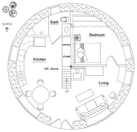 hobbit hole floor plan hobbit house earthbag house plans