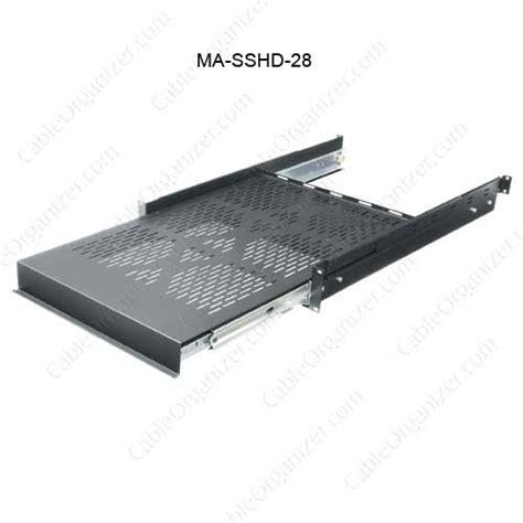 Slide Shelf by Middle Atlantic Heavy Duty Sliding Shelf Cableorganizer