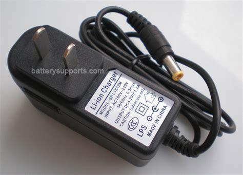 Adaptor Charger Li Ion Smart Charger 2 1a Tc li ion li po 3 6v 3 7v 4 2v 1a wall socket battery charger