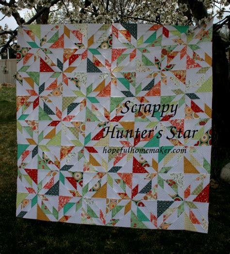 quilt pattern hunters star stash bee hive 7 january tutorial hunter s star