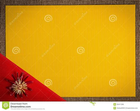 background  christmas greeting card holiday straw decoration red  yellow color textured