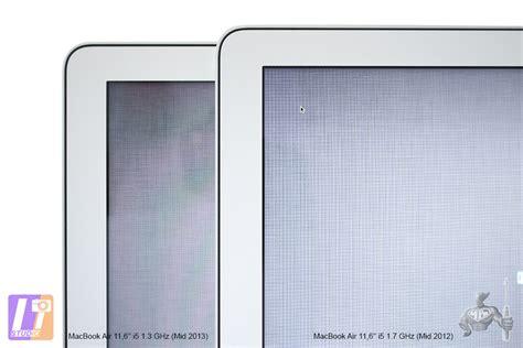 Mba 11 Vs 13 by Macbook Air 11 6 Quot 2013 Une Nouvelle Dalle Lcd Mais