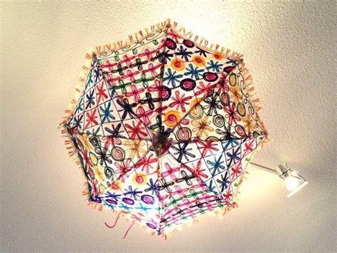 ceiling lampshade  india fabric umbrella lamp shade