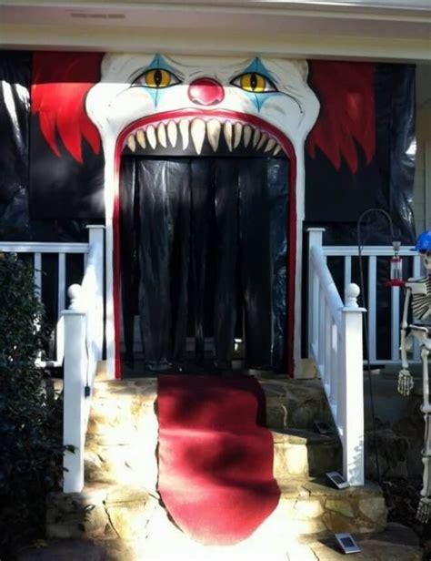 eerie decorations 19 door decorating ideas that are hauntingly
