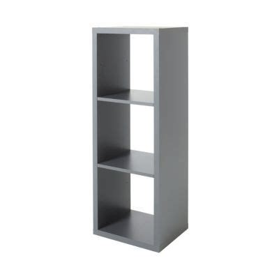 etagere 9 cases castorama 201 tag 232 re modulable 3 cases coloris gris mixxit castorama