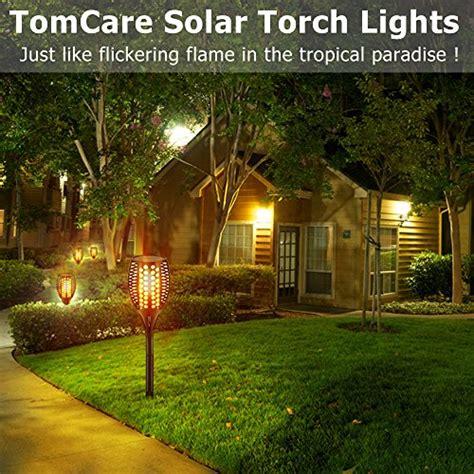 tomcare solar lights waterproof flickering flames tomcare solar lights waterproof flickering flames torches