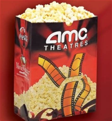 Amc Theatres by 1 00 Large Popcorn At Amc Theaters