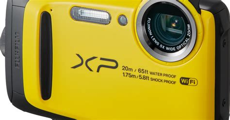 rugged point and shoot fujifilm s finepix xp120 is a sporty rugged point and shoot