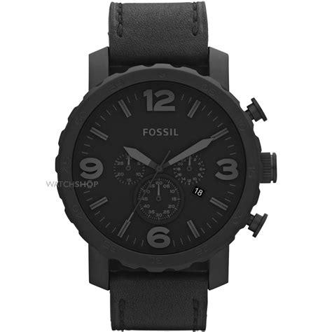 Jam Fossil Black Preloved s fossil nate chronograph jr1354 shop