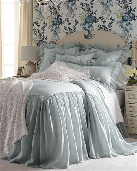 skirted bedspreads coverlets pine cone hill king savannah skirted coverlet