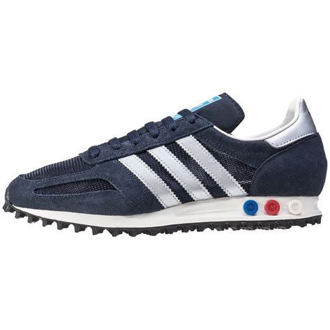 Adidas La Trainer adidas la trainer og mens trainers in navy silver