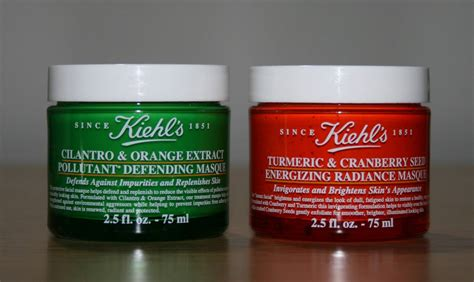 Masker Kiehl S new from kiehl s turmeric cranberry seed energizing